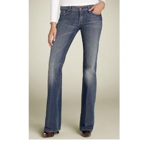 7 For All Mankind 》High Waist Bootcut Jeans